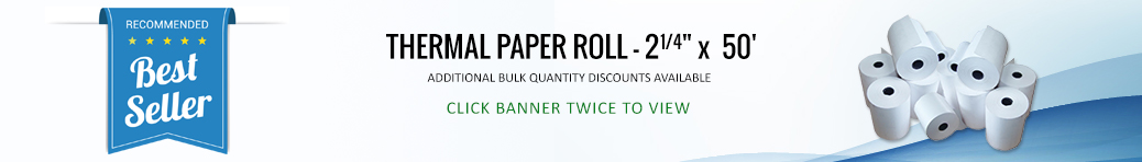 Thermal Paper, Ribbons & Paper Rolls | Thermal Paper Direct